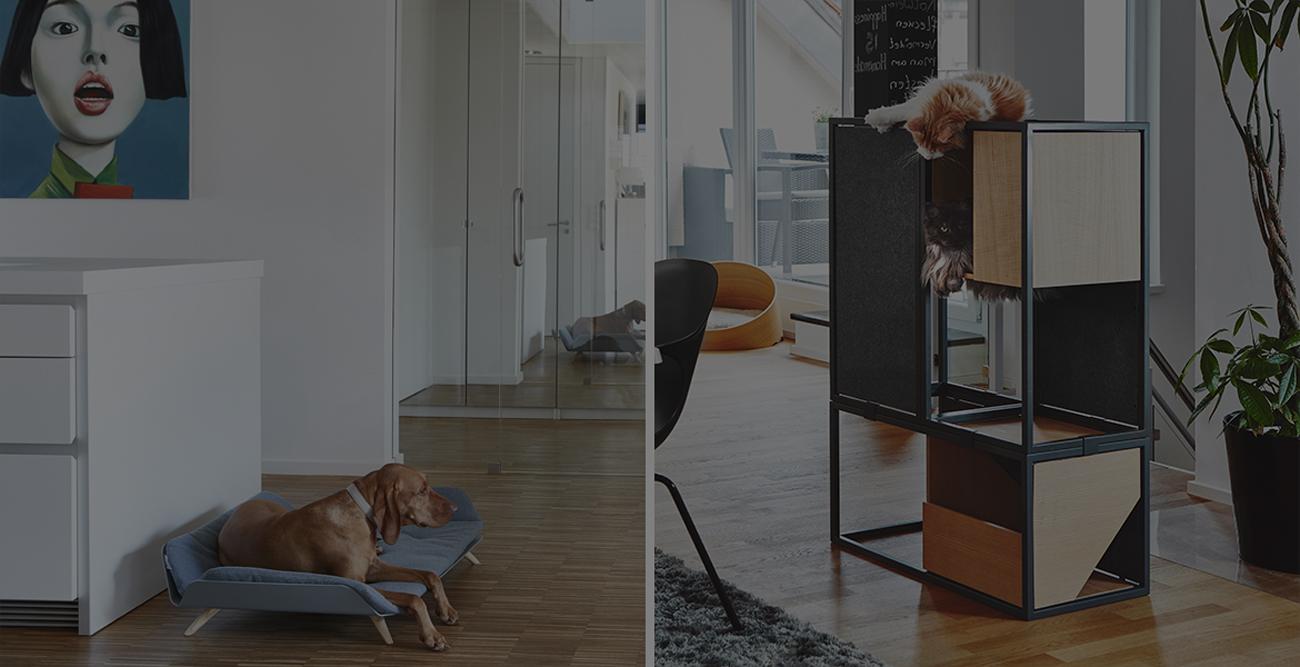 Mobilier design pour chien et chat, 5 produits tendances