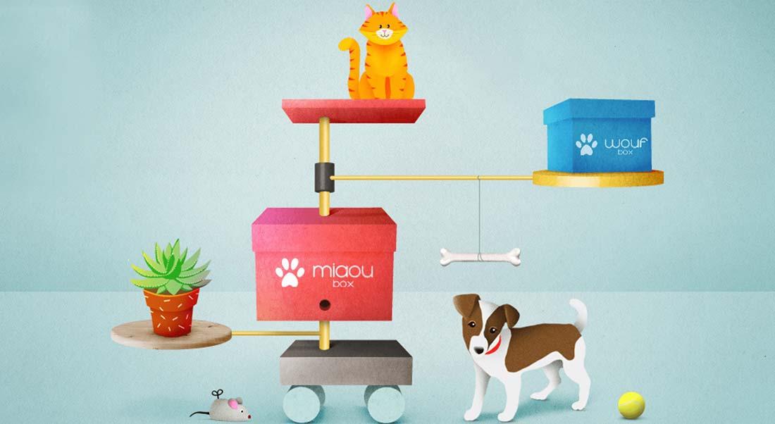 woufbox miaoubox box pour animaux